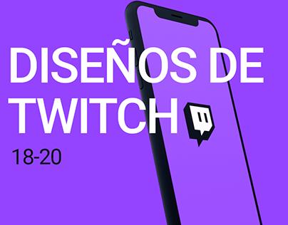 DISEÑOS DE TWITCH