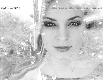 Carola Ortiz | Website