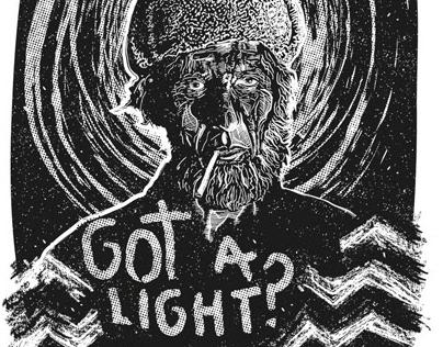 ILLUSTRATION / GOT A LIGHT?