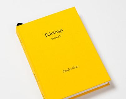 Zander Blom | Paintings Volume I
