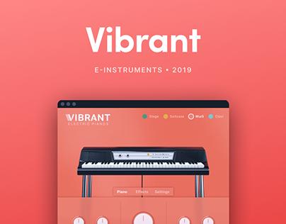 Vibrant - Interface Design