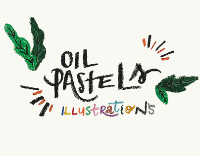 Oil Pastels — illustrations