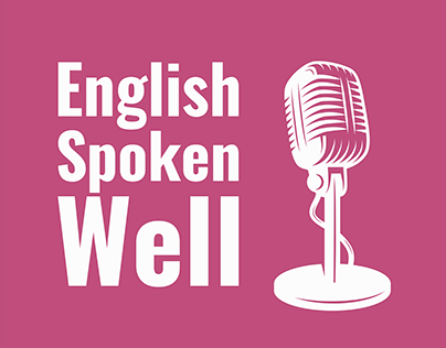 Podcast Cover | English Spoken Well