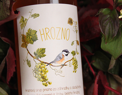 Bottle Label Design & Branding (Squash / Cordial)