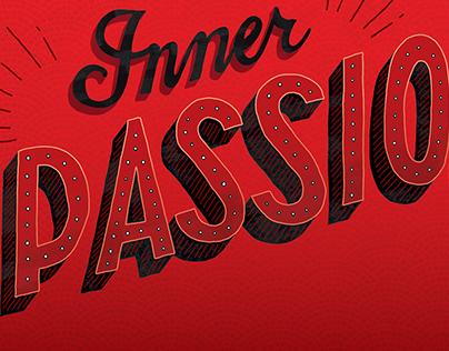 Inner Passion lettering