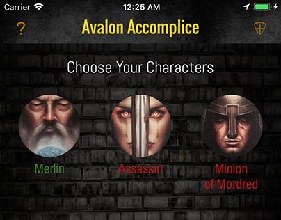 Avalon Accomplice iOS App
