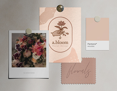 a.bloom | Logo & Brand Development