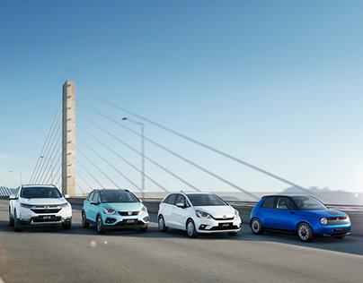 Honda EV Range 2020 (CGI)