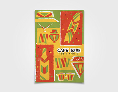 Icon Poster - Cape Town