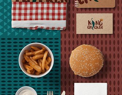 King Chicken Restaurant Branding