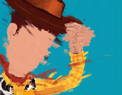 Ilustração Toy Story
