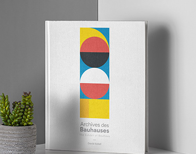 Exhibit of Bauhaus: A Book design Project