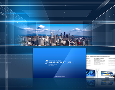Interactive menu templates for Impression FX Lite v2.0