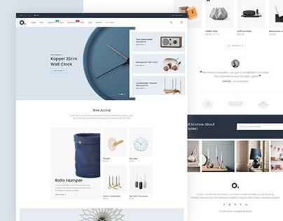 E-Commerce Home Page