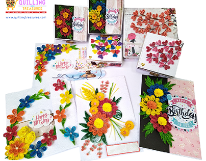 My Handmade Quilling Cards and gifts