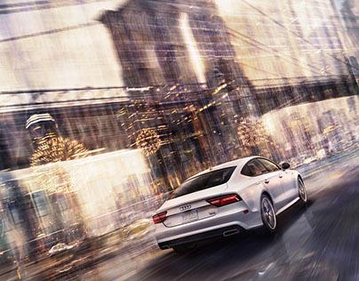 Audi USA: Titel für Broschüren