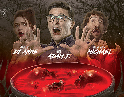 Horror Halloween Flyer - PSD Template