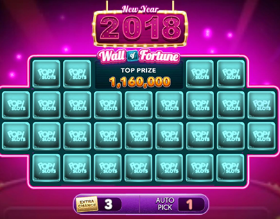 wall of fortune mini game