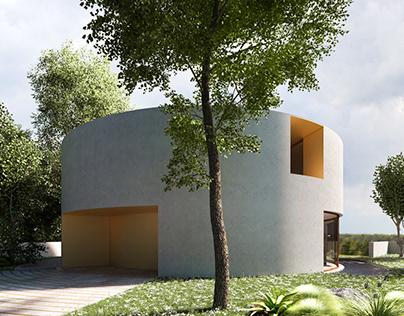 Exterior Render / House