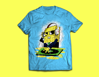 RavySpongy T-Shirt Design