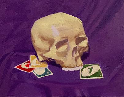 Skull Still Life Collection