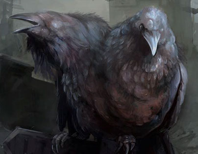 Siamese crow