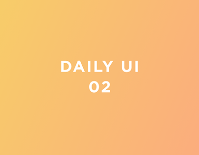 Daily UI 02 - Credit Card