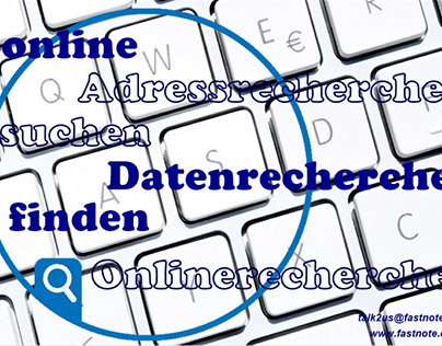 Kronberg Büroservice Adressrecherche Datenrecherche