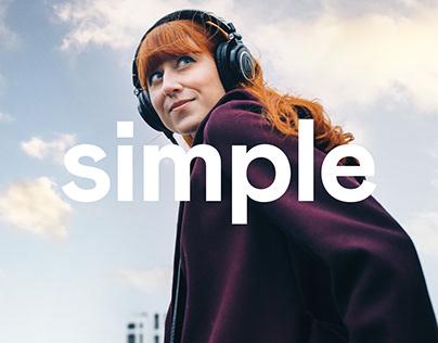 Votre musique en toute simplicité.