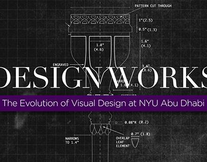 Design Works: The Evolution of Visual Design at NYUAD
