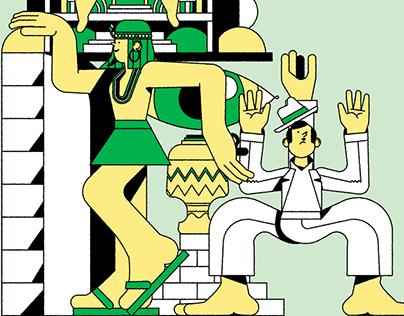 Magazine Illustration - Galileu Antimatria
