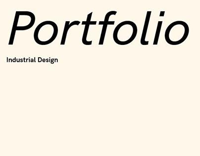 Industrial Design Portfolio {2021}