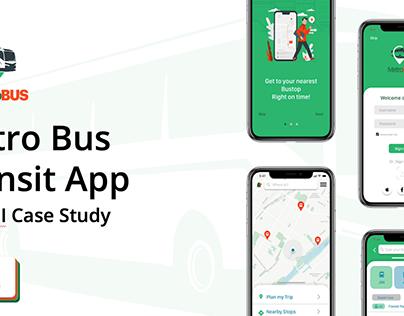 Metro Bus Transit App