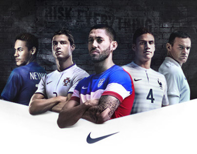 Nike National Team Kits 2014