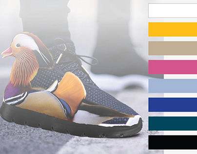 Mandarin duck sport shoe collection