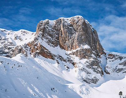 Dolomites Feb. 2020