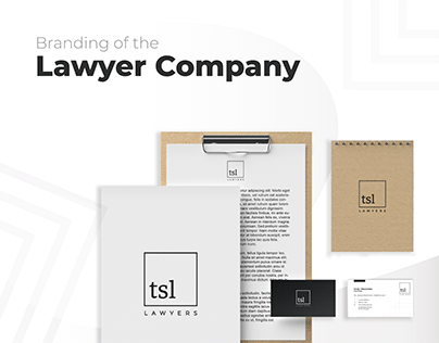 Lawyer Company branding