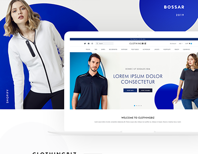 Clothing / Apparel Ecommerce Store Design (Shopify)