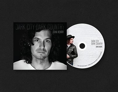 Dark City Dark Country Album Design