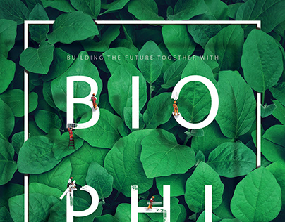 Poster made for World Biophilia Poster Competition