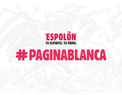 Espolòn - #PAGINABLANCA [We Are Social]