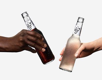 The cola in skin colors