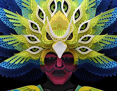 Dinagyang Mask