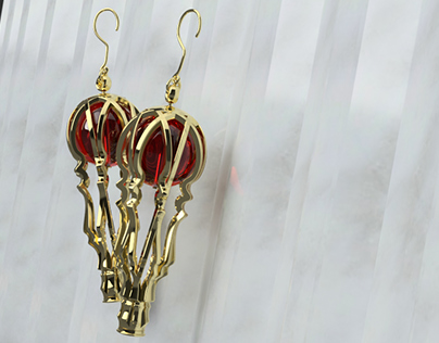 PASSION // Earrings inspired by Ottoman Imperial Harem