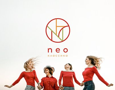 Neo classica — logo and patterns