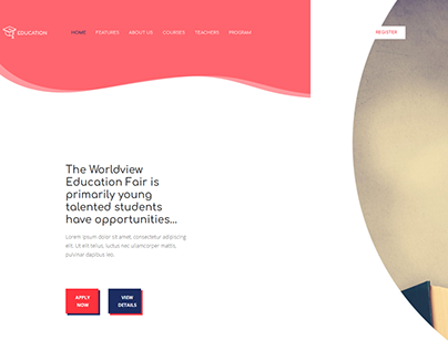 Educational Institute Landing Page