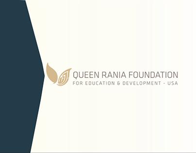 Queen Rania Foundation motion graphics demo