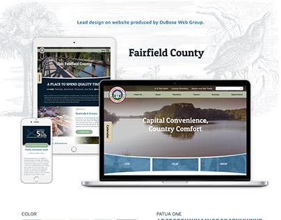 Fairfield County, SC Website Design