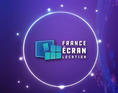 BRANDING FRANCE ECRAN LOCATION