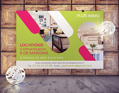 Affiche - Poster / Immobilier
